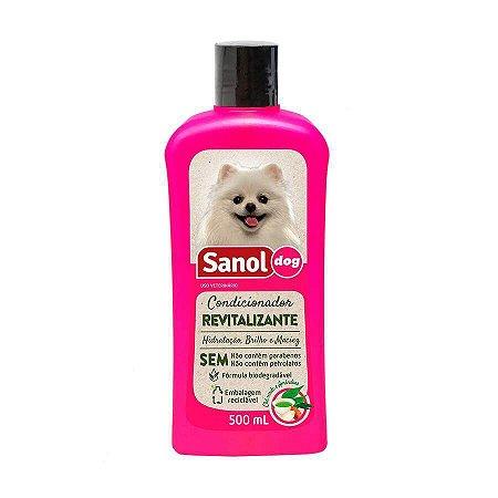 Condicionador De Pelos Revitalizante Sanol Dog 500 ml