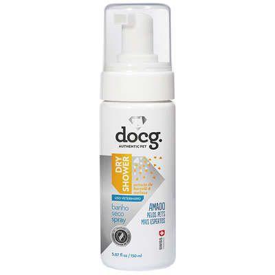 Banho a Seco Docg Dry Shower Spray para Cães e Gatos 150ml