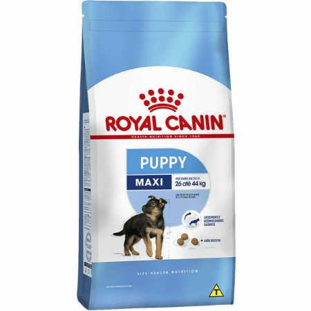 Ração Royal Canin Maxi Puppy Cães filhotes raças grandes 15kg