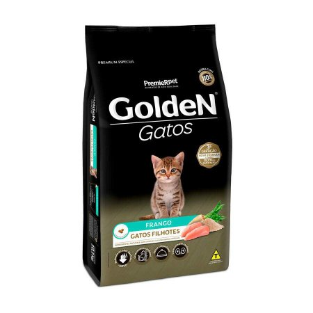 Golden Gatos Filhotes Sabor Frango 1 kg
