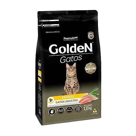 Golden para Gatos Adultos Sabor Frango 1 kg