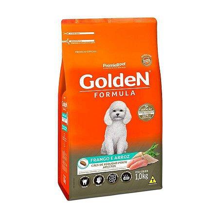 Golden Fórmula MB Cães Adultos Pequeno Porte Sabor Frango e Arroz 1 kg