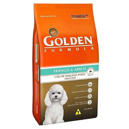 Golden Fórmula MB Cães Adultos Pequeno Porte Sabor Frango e Arroz 3 kg