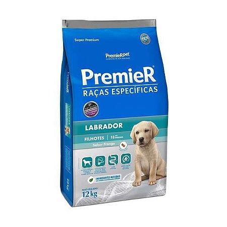 Premier Raças Específicas Labrador para Cães Filhotes - 12kg