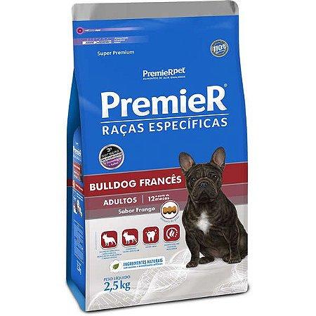 Premier Raças Específicas Bulldog Francês Cães Adultos 2,5kg