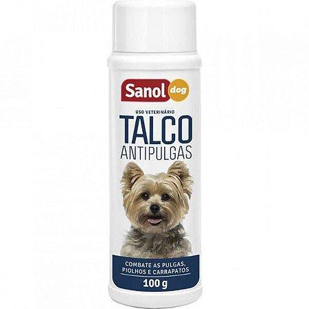 Talco Sanol Dog Antipulgas 100 gr