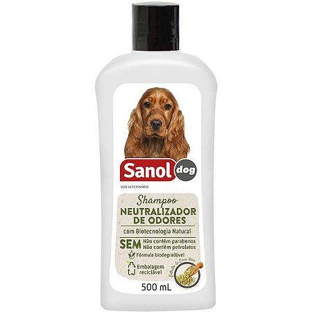 Shampoo Sanol Dog Neutralizador de Odores 500 Ml