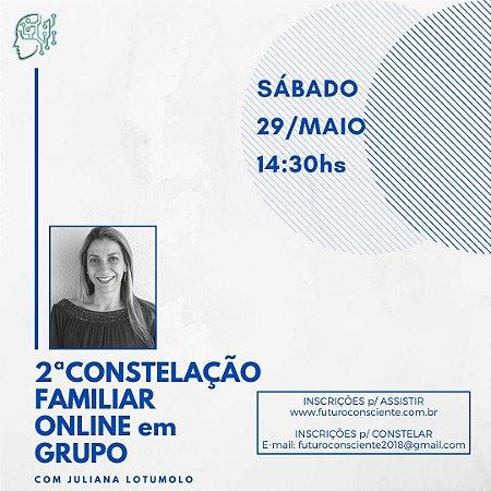 """2ª CONSTELAÇÃO FAMILIAR ONLINE em GRUPO - """"INSCRIÇÃO SOMENTE PARA ASSISTIR"""""""