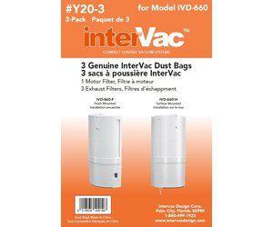 Saco descartável para Central Intervac Mod. IVD-660