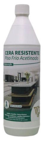 Cera Resistente Acetinada para Piso Frio - 1 LT