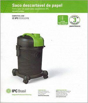 Sacos descartáveis para aspirador de pó IPC - Ecoclean