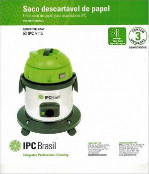 Sacos descartáveis para aspirador de pó IPC - A115