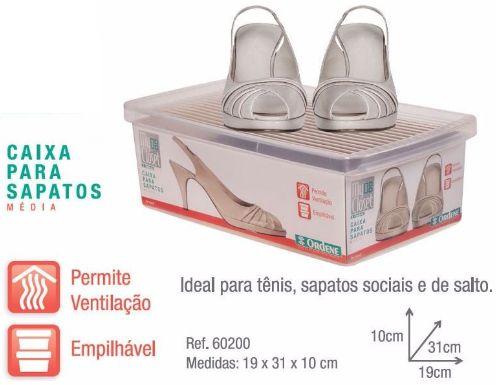 Caixa para Calçados - Pequena