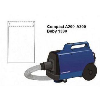 Sacos descartáveis para aspirador de pó Electrolux - A200, A300 e Baby