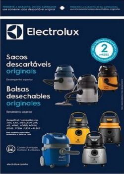 Sacos descartáveis para aspirador de pó Electrolux - A10 (produzidos após de 2010)