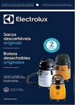 Sacos descartáveis para aspirador de pó Electrolux - A20 (produzidos após de 2010)