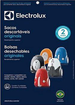 Sacos descartáveis para aspirador de pó Electrolux - Neo09, Neo10, Neo11, Neo12, Neo16, Listo, e Pet Lover