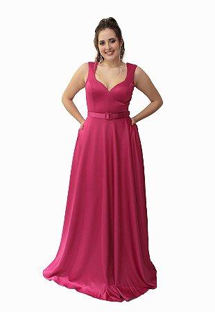 Vestido Longo Pink Lore