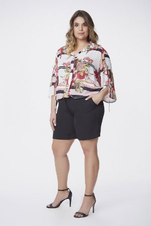 Camisa Flower Estampada