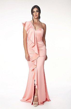 Vestido Longo L´or Rosa