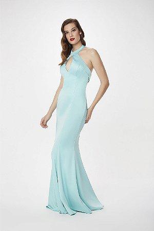 Vestido Longo L'or Azul Brisa