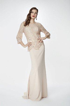 Vestido Longo Tutta Rose