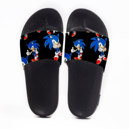 Chinelo Slide Masculino Sonic Use Nerd