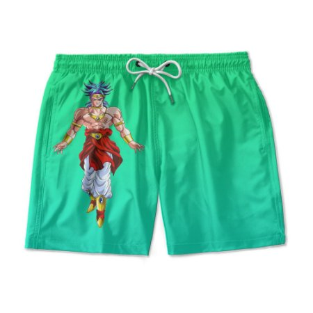 Short Praia Estampado Broly Use Nerd