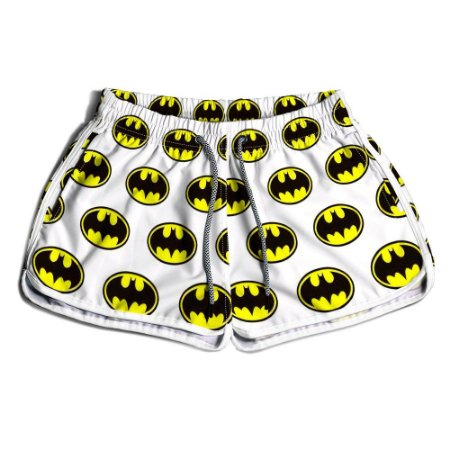 Short Praia Estampado Feminino Batman Use Nerd