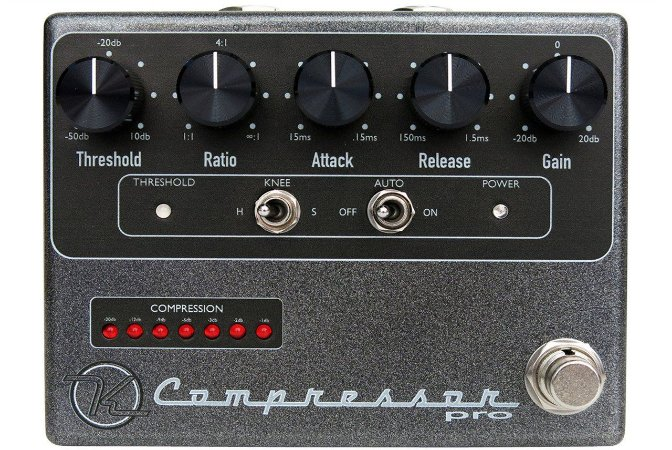 Pedal Keeley Compressor Pro Made In Usa