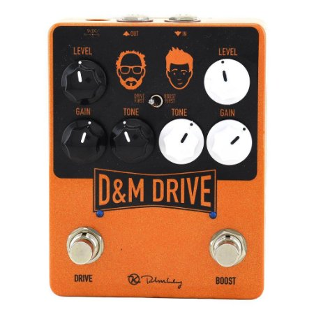 Pedal Keeley D&m Drive Dual Overdrive Dm Made In Usa