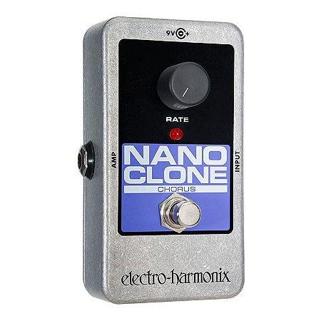 Pedal Ehx Nano Clone Analog Chorus - Electro Harmonix
