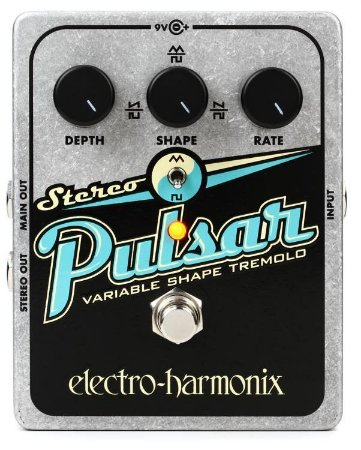 Pedal Ehx Stereo Pulsar Analog Tremolo Electro Harmonix