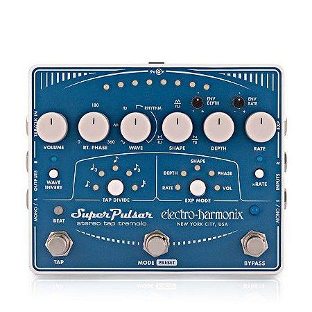 Pedal Tremolo Super Pulsar Electro Harmonix Stereo Tap Ehx