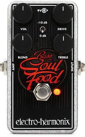 Pedal Ehx Bass Soul Food Transparent Overdrive