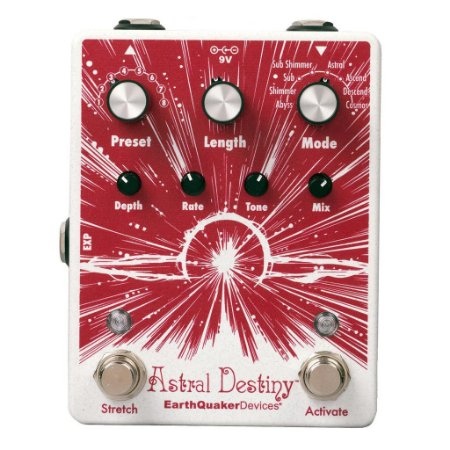 Pedal Astral Destiny Reverb Octave Earthquaker Devices