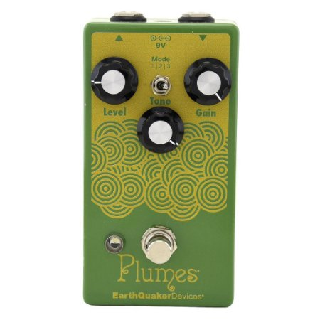 Pedal Earthquaker Devices Plumes Overdrive Made In Usa