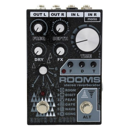 Pedal Death By Audio ROOMS Stereo Reverb