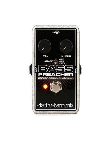 Pedal Compressor Bass Preacher Electro Harmonix Sustainer