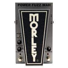 Pedal Morley Cliff Burton Power Fuzz Wah Made In Usa