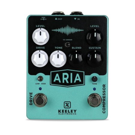 Pedal Keeley Aria Compressor Overdrive