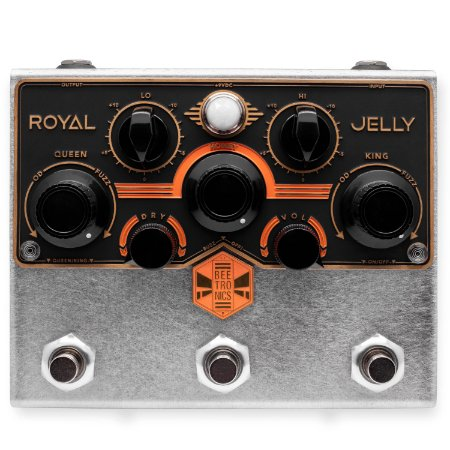 Pedal Beetronics Royal Jelly Royal Series Overdrive Fuzz