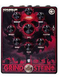 Pedal Grindstein – The ultimate death Metal preamp Made in Germany
