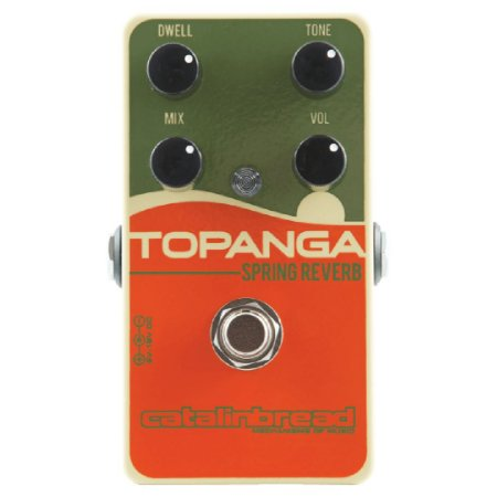 Pedal Catalinbread Topanga Spring Reverb Made In Usa