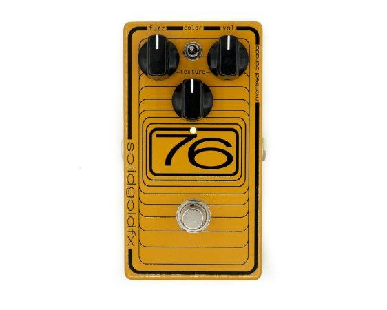 Pedal 76 Solid Gold Fx OCTAVE FUZZ
