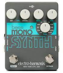 Pedal Ehx Bass Mono Synth Electro Harmonix