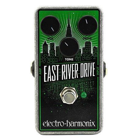 Pedal Ehx East River Drive Classic Overdrive Tube Screamer