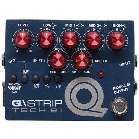 Tech 21 Q Strip Eq Preamp Direct Box Mosfet Di