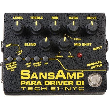 Tech 21 Sansamp Para Driver Di Version 2