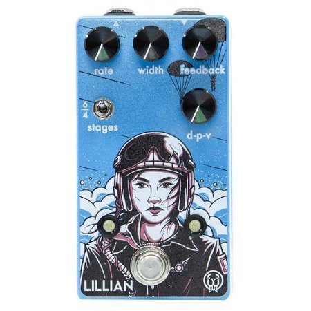 Pedal Lilian Walrus Audio Guitarra Phaser Analógico